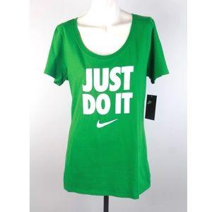 Nike Women's 'The Nike Tee' T- Shirt Just Do It